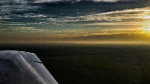 zbor cu avionul ultrausor