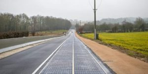 șosea solară