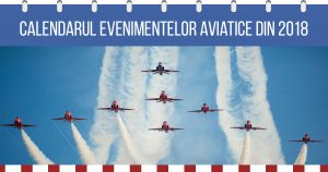 evenimente aviatice 2018 romania