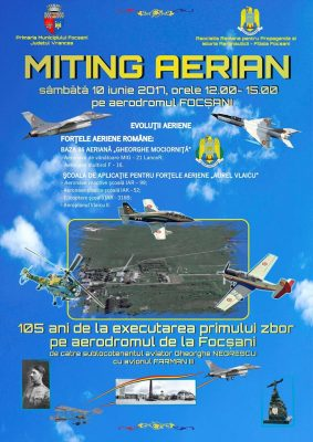 miting aviatic focsani 2017