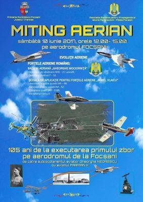miting aviatic focsani 2017