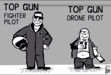 pilot drona