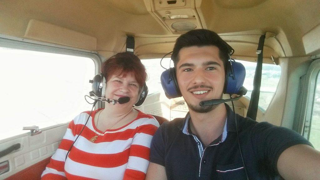 pilot de avion Radu David