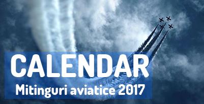 evenimente aviatice 2017