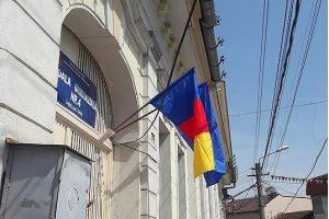 drapelul Romaniei pus gresit scoala lugoj
