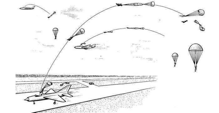 MIG 21 catapultare