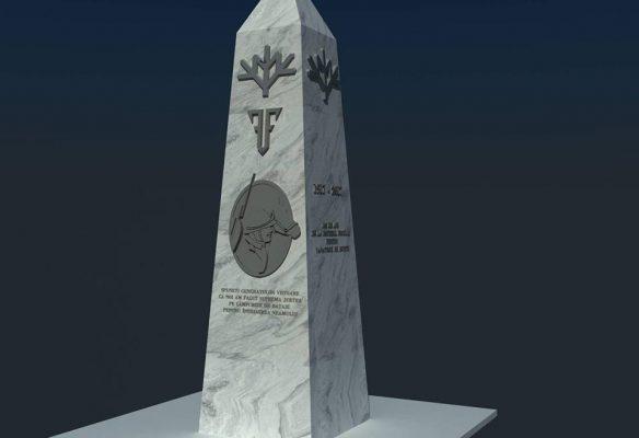 monument vânătorii de munte cireșoaia