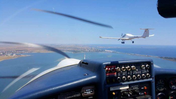 zbor pe deasupra litoralului