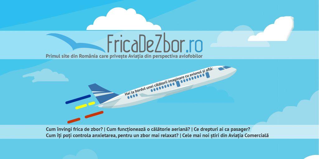 FricaDeZbor.ro, primul site din România care tratează Aviația din perspectiva aviofobilor