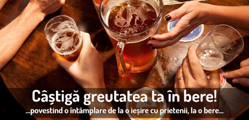 greutatea ta în bere