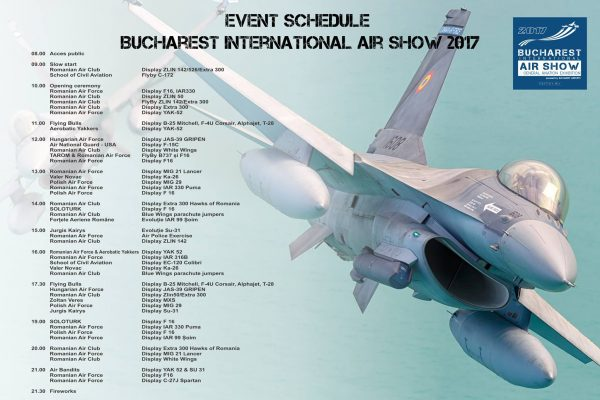 Bucharest International Airshow 2017