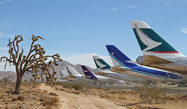 cimitir avioane desert