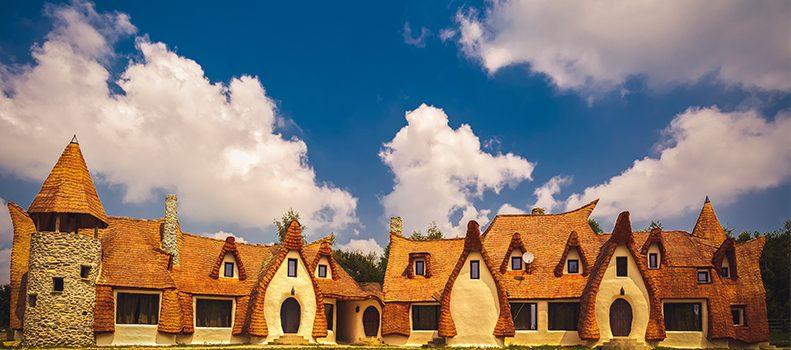 castelul de lut de la valea zanelor castelele de basm ale României