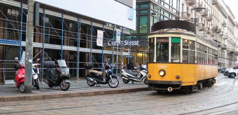 tramvai vintage milano