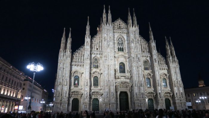 duomo in the night