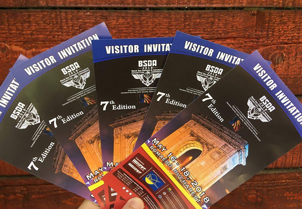 invitații BSDA 2018
